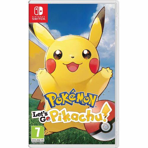 Pokemon Let's Go Pikachu Switch