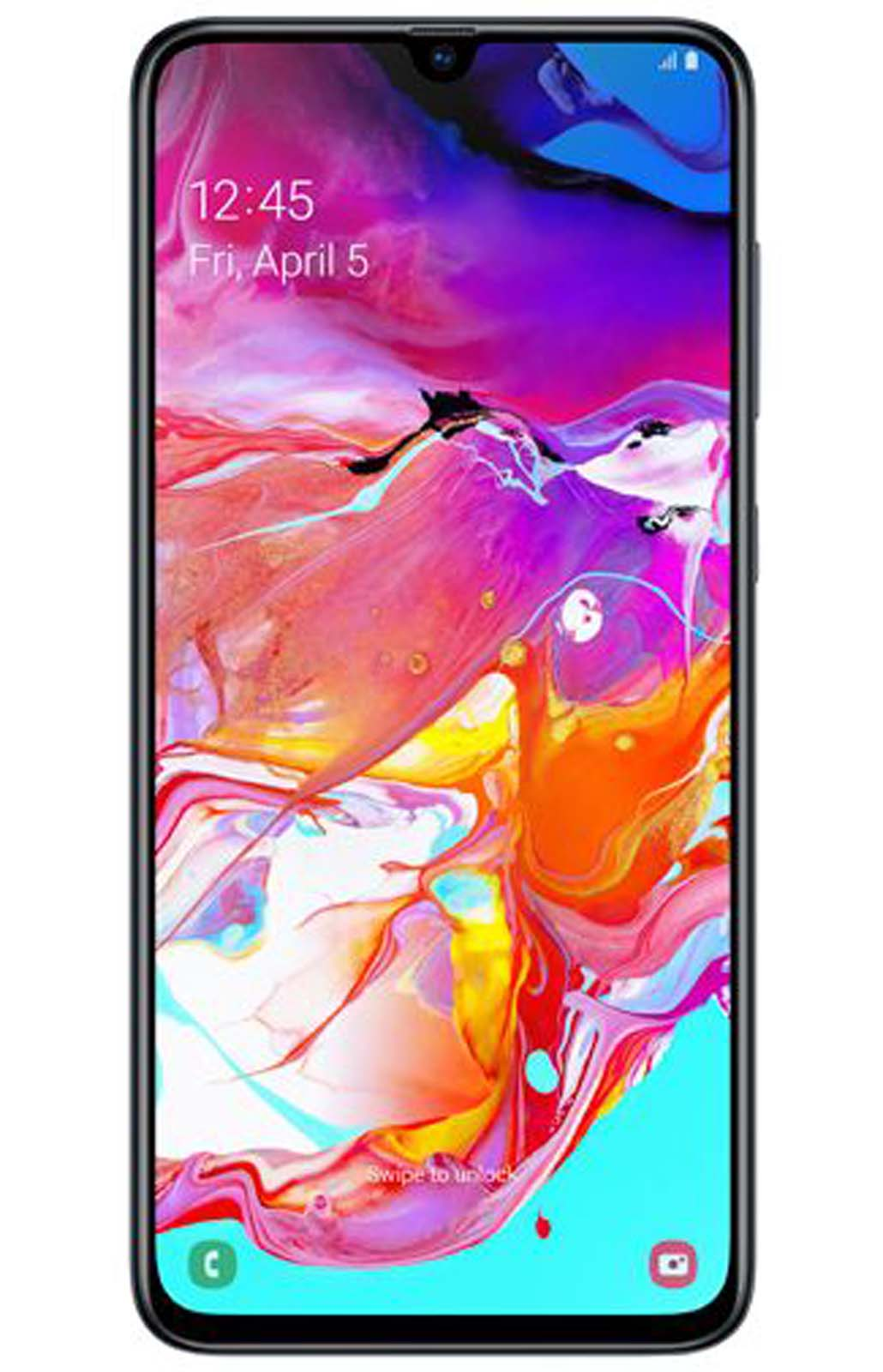 Samsung Galaxy A70 Zwart