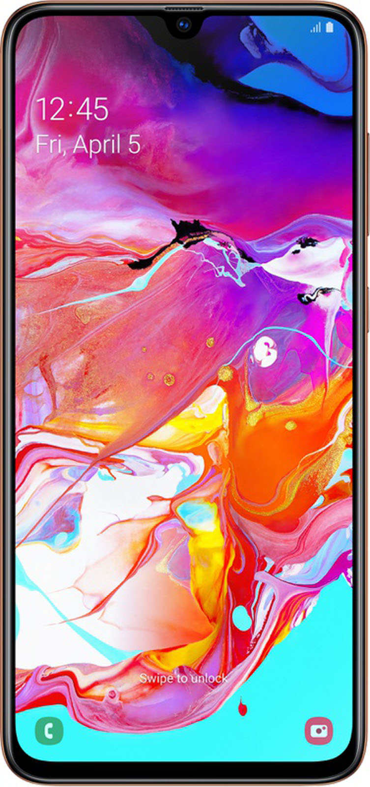 Samsung Galaxy A70 Roze
