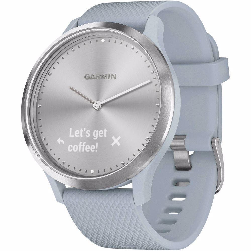 Garmin smartwatch Vivomove HR Sport (Zilver/Blauw)