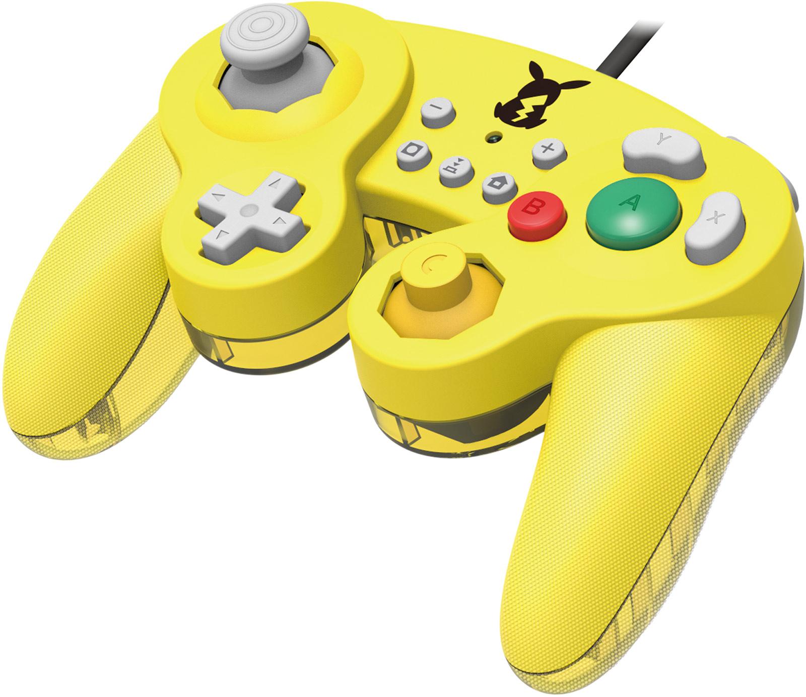Hori Smash Bros Gamepad Nintendo Switch Pikachu