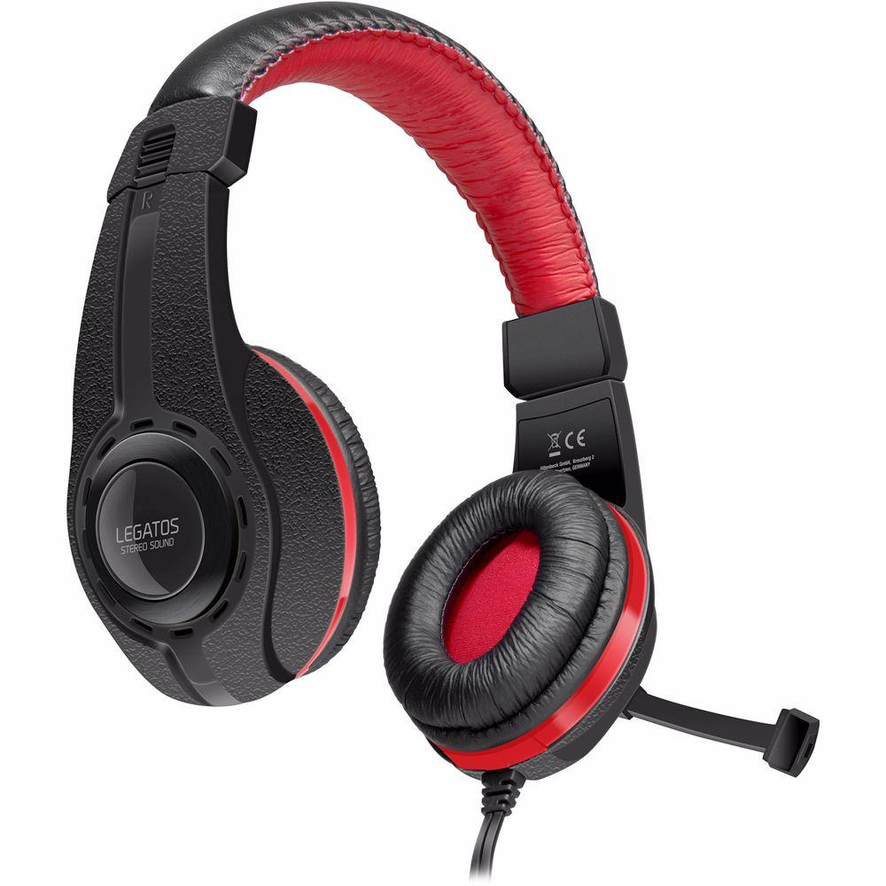 Speedlink Legatos Stereo Gaming Headset PS4 (Zwart)