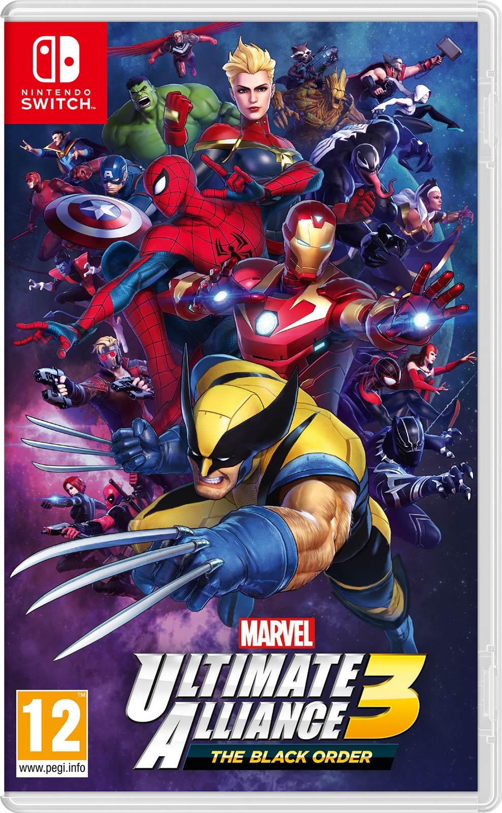 Marvel Ultimate Alliance 3 The Black Order Nintendo Switch