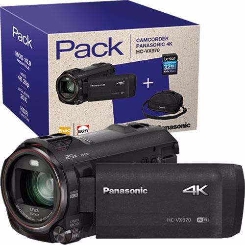 Panasonic camcorder HC VX870 32GB PACK