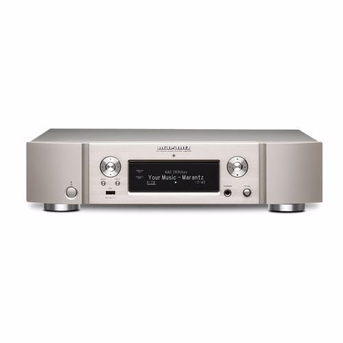 Marantz digitale audio streamer NA6006 Zilvergoud