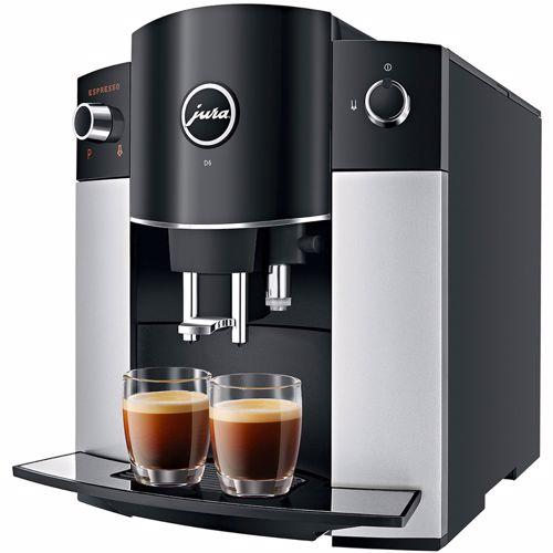 Jura espresso apparaat D6 (Platina) 7610917151813