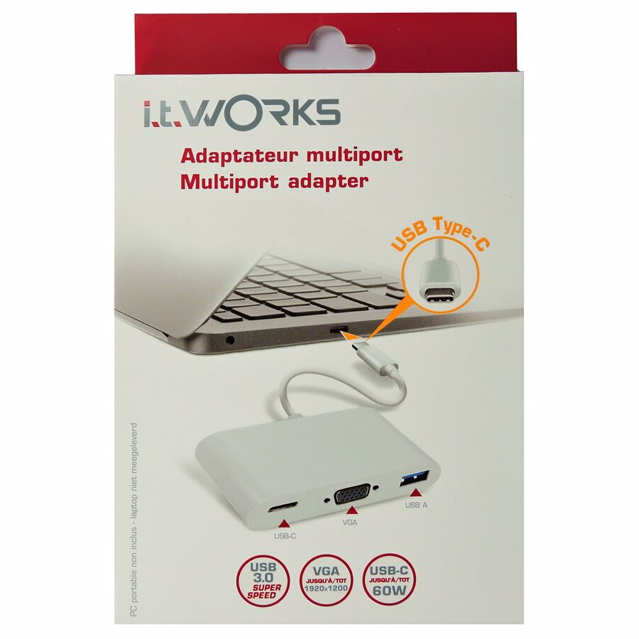 It-works Multiport adapter