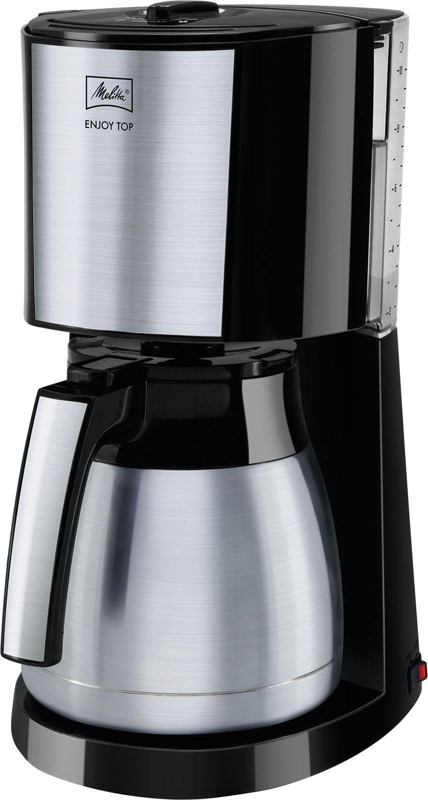 Melitta koffiezetapparaat Enjoy Top Therm (Zwart)