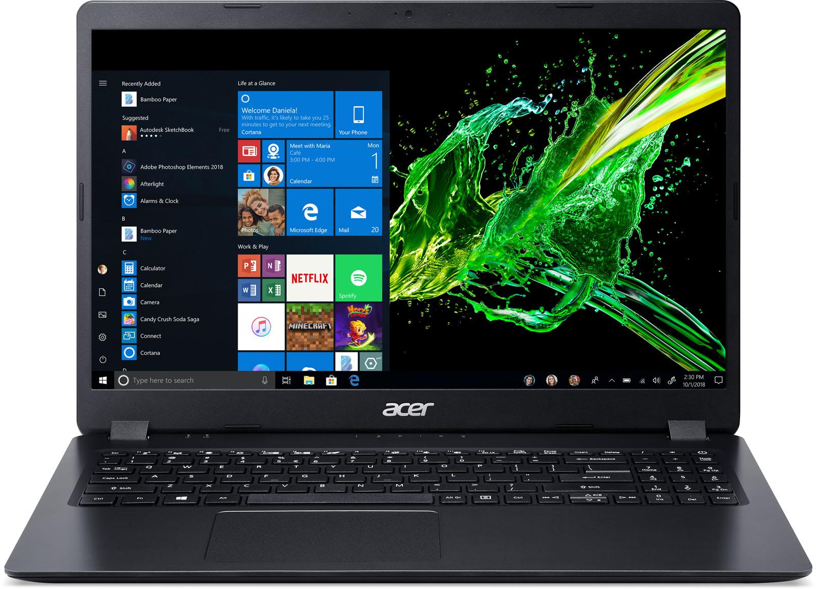 Acer laptop Aspire 3 A315-54 (Zwart)