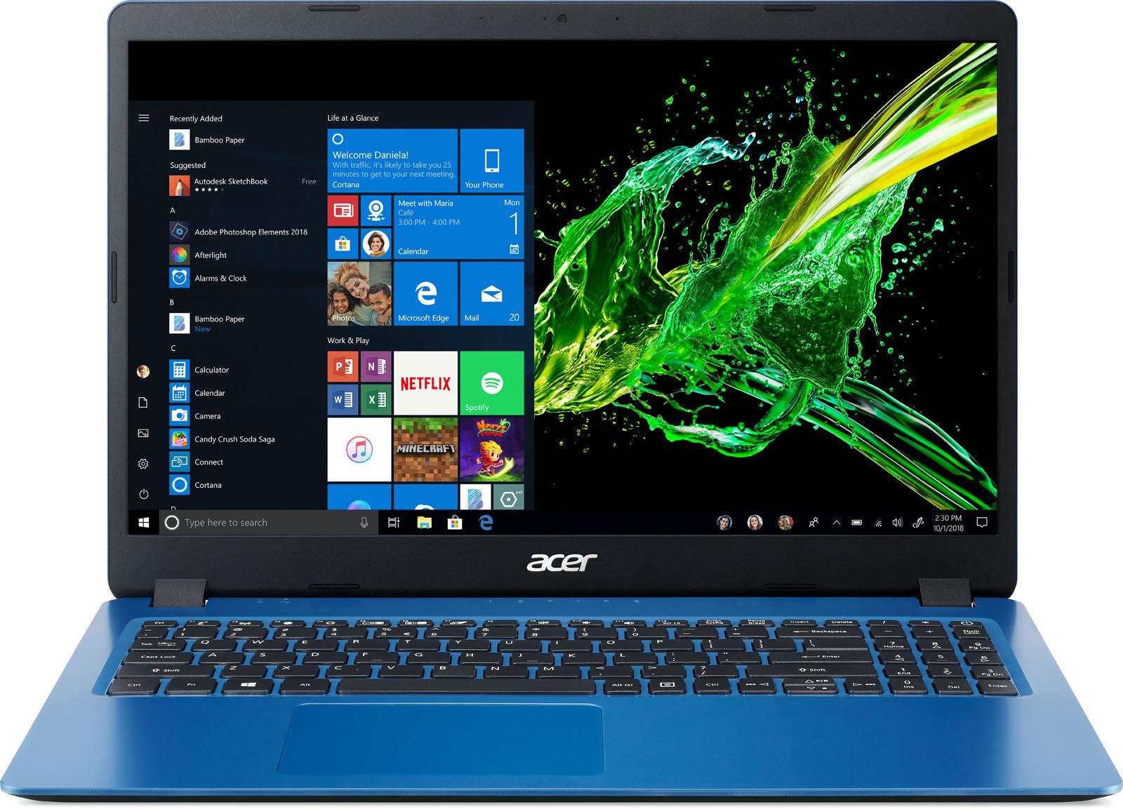 Acer laptop Aspire 3 A315-54 (Blauw)