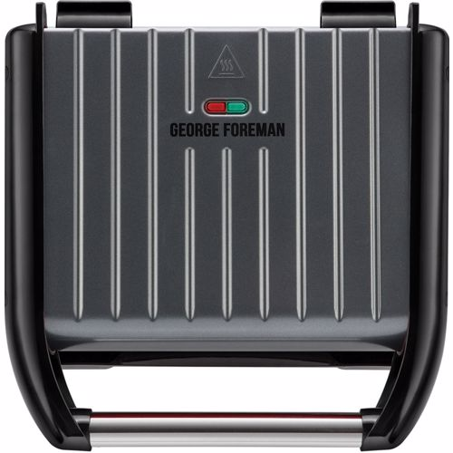 George Foreman contactgrill 25041-56 Family (Grijs)