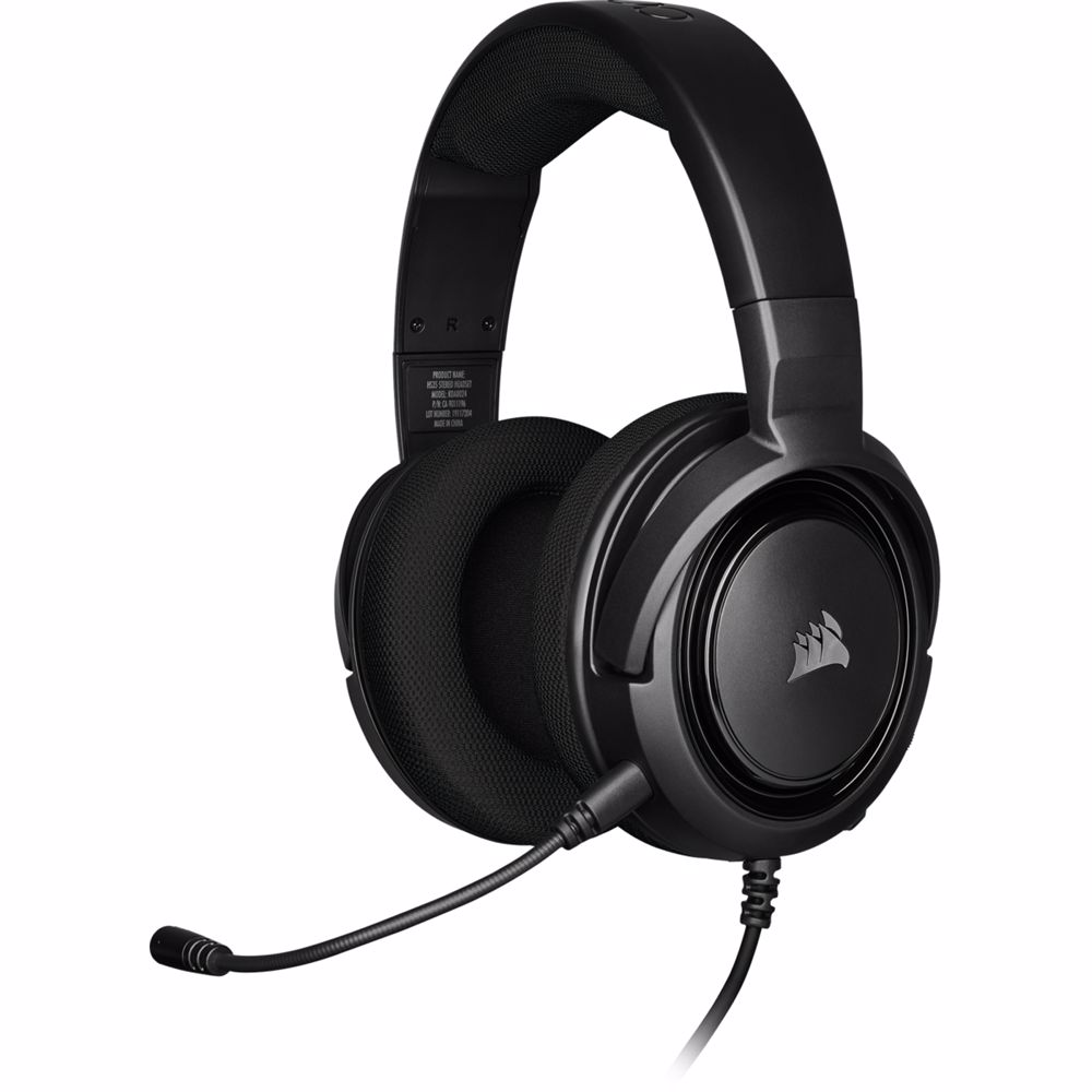 Corsair stereogaming headset HS35 (Zwart)