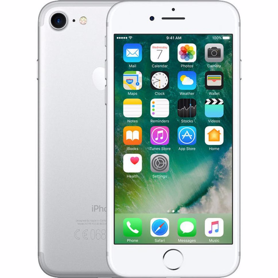 Renewd Apple iPhone 7 - 32 GB (Zilver) - Refurbished