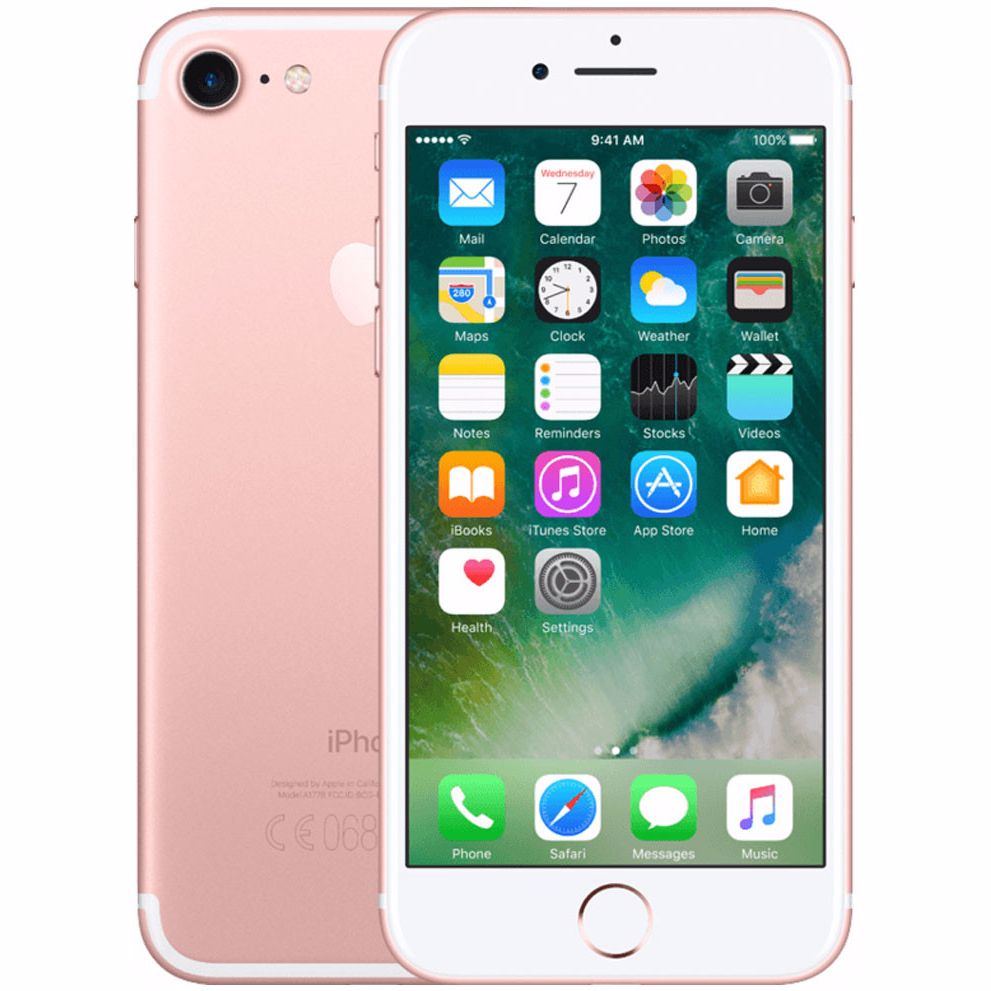 Renewd Apple iPhone 7 - 32 GB (Rosegoud) - Refurbished