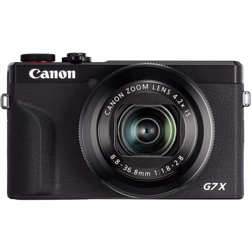 Canon compact camera PowerShot G7X Mark III Zwart