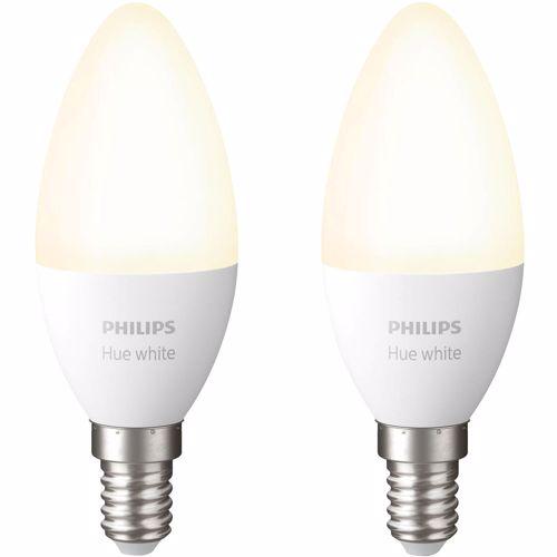 Philips Hue White E14 Bluetooth Duopak