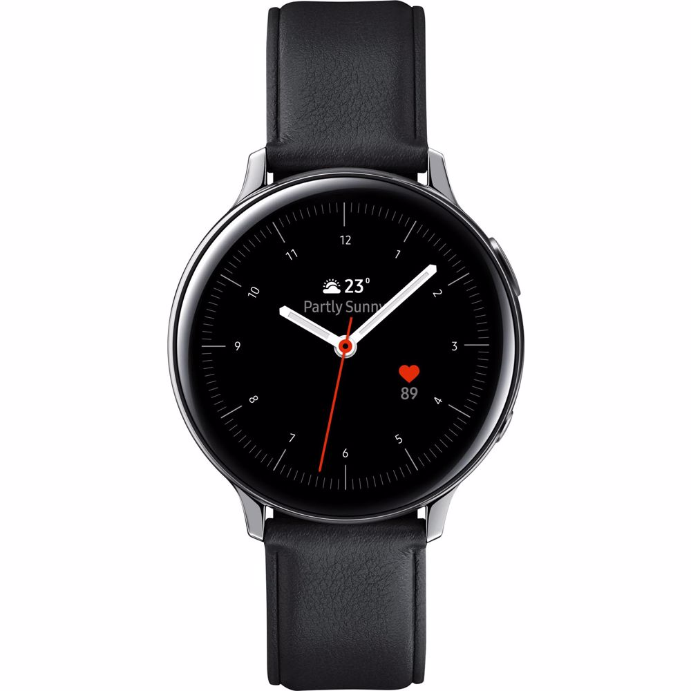 Samsung Galaxy Watch Active2 40MM RVS (Zilver/Zwart)