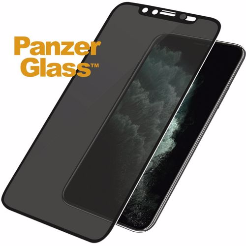 Panzerglass screenprotector voor iPhone XS Max Dual Privacy