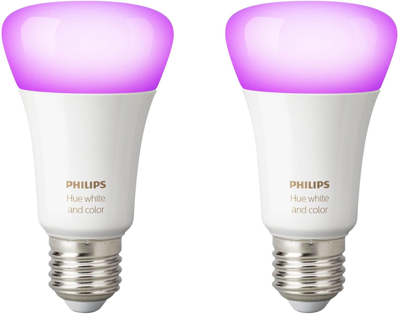 Philips Hue White Color Ambiance E27 Bluetooth Duopak