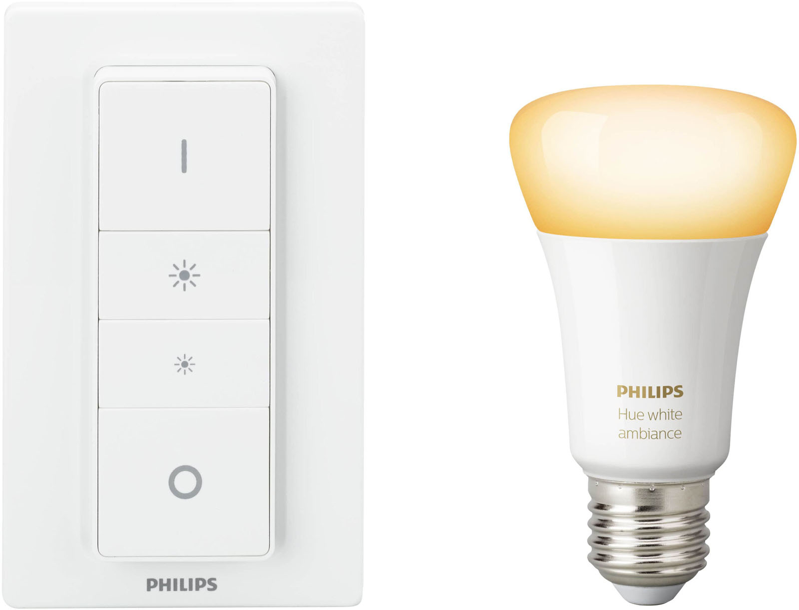 Philips Hue White Ambiance Draadloze Dimmerset E27 Bluetooth