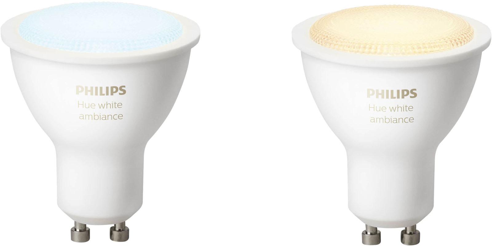 Philips Hue White Ambiance GU10 Bluetooth Duopak