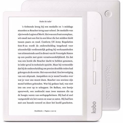 Kobo e-reader Libra H2O (Wit)