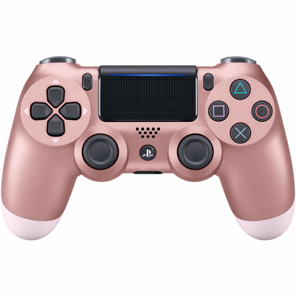 Sony PS4 Wireless Dualshock 4 V2 Controller (Rose Goud)
