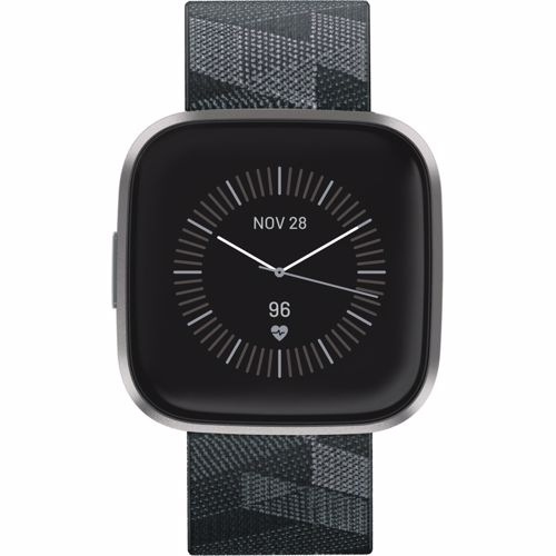 Fitbit smartwatch Versa 2 Donkergrijs