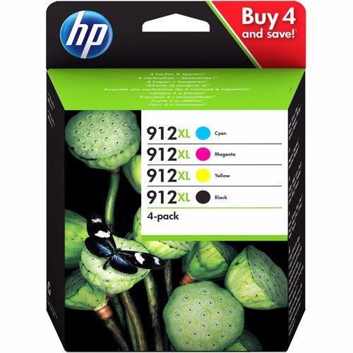 HP cartridge HP 912 XL Multipack 4 stuks