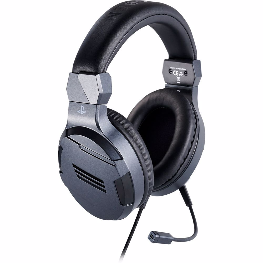 Bigben Interactive Stereo Gaming Headset V3 PS4 (Titanium)