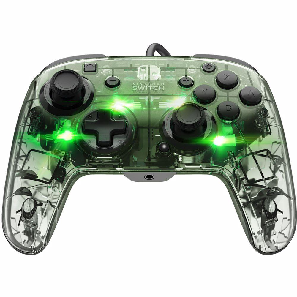 AfterGlow Deluxe+ Bedrade Controller - Nintendo Switch (Zilver)
