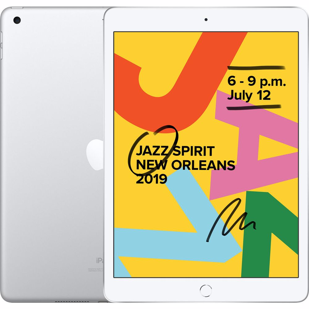 Apple iPad 2019 32GB Wifi (Zilver)