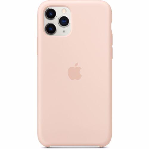 Apple siliconen telefoonhoesje iPhone 11 Pro (Rosegoud)