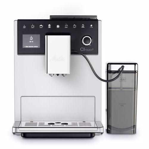 Melitta espresso apparaat CI Touch F630-101 (Zilver)
