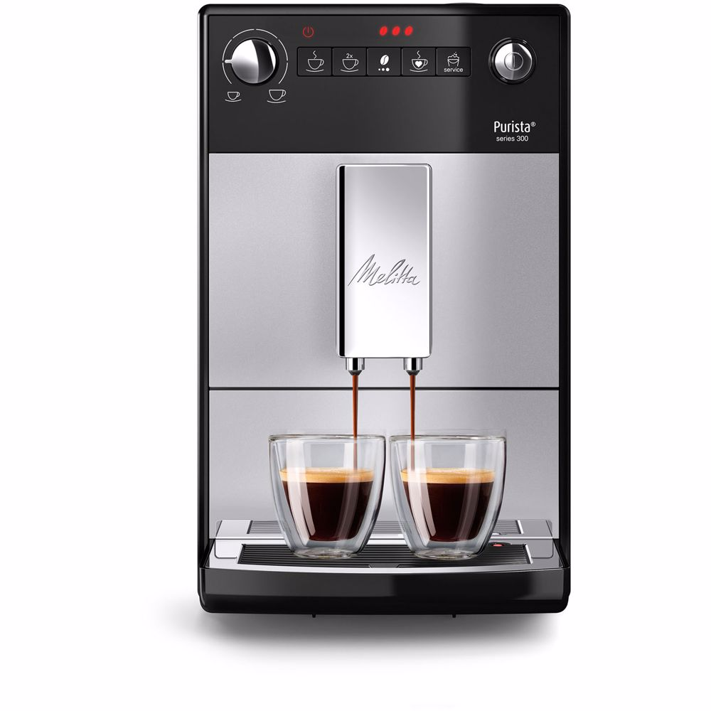 Melitta espresso apparaat Purista F230-101 (Zilver)