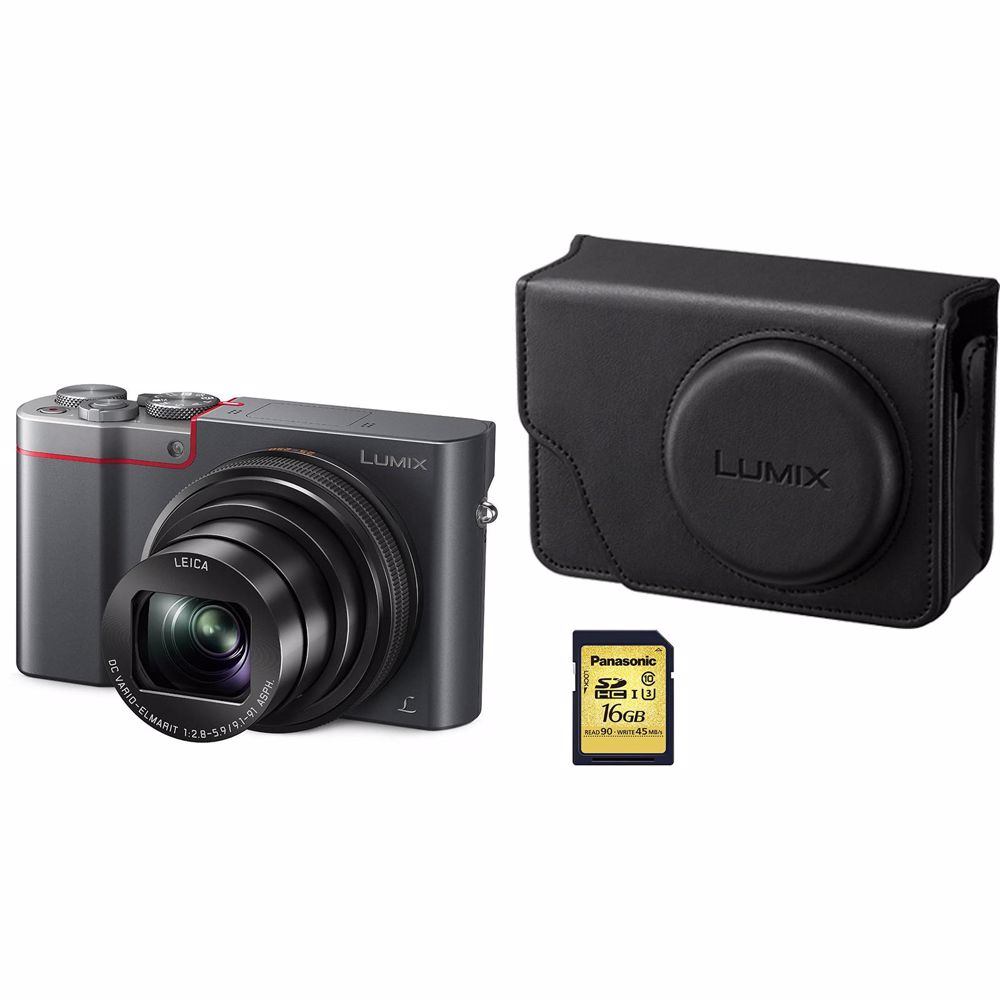 Panasonic compact camera DMC-TZ101 Bundel