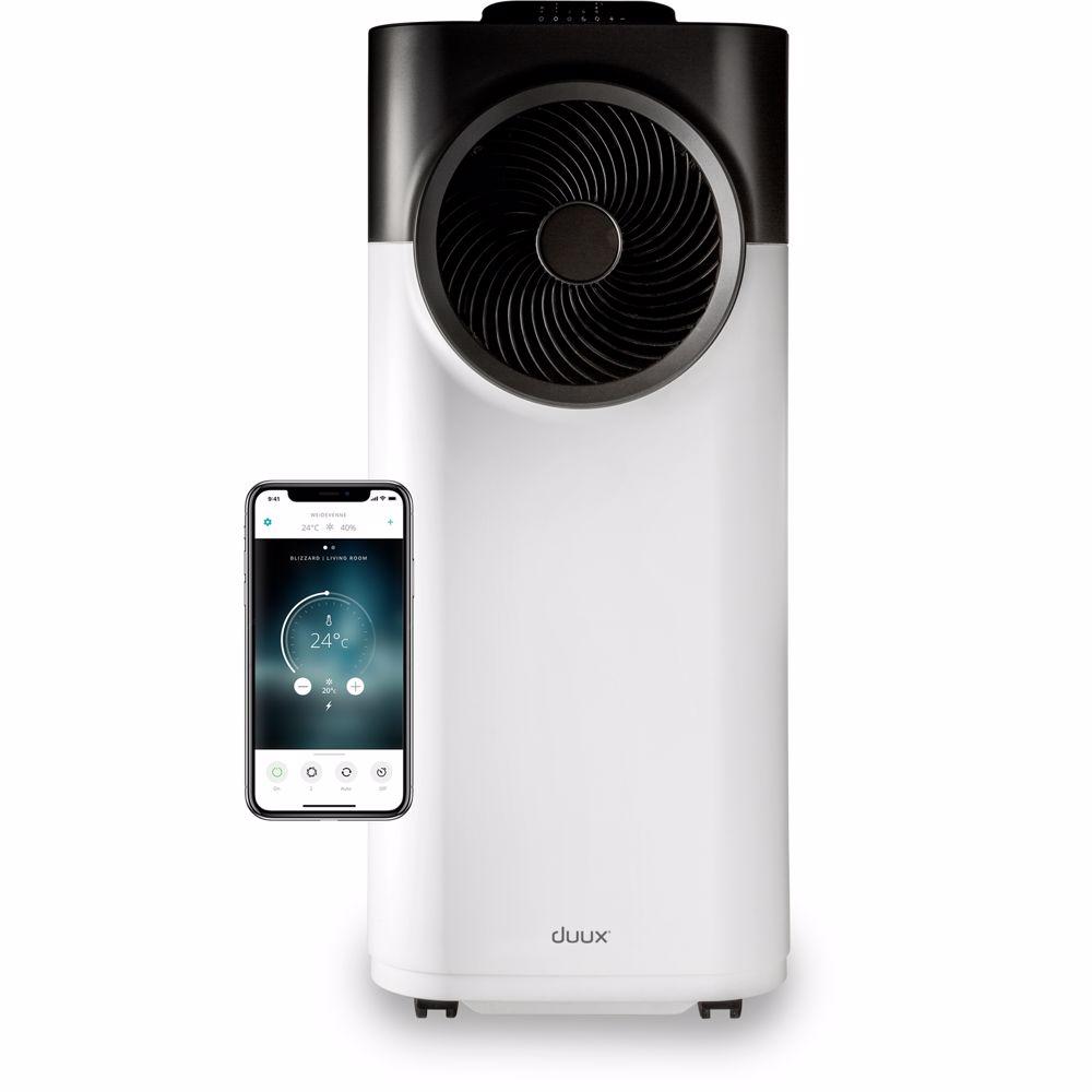 Duux airconditioner 12K Blizzard Smart Mobile Airconditioner