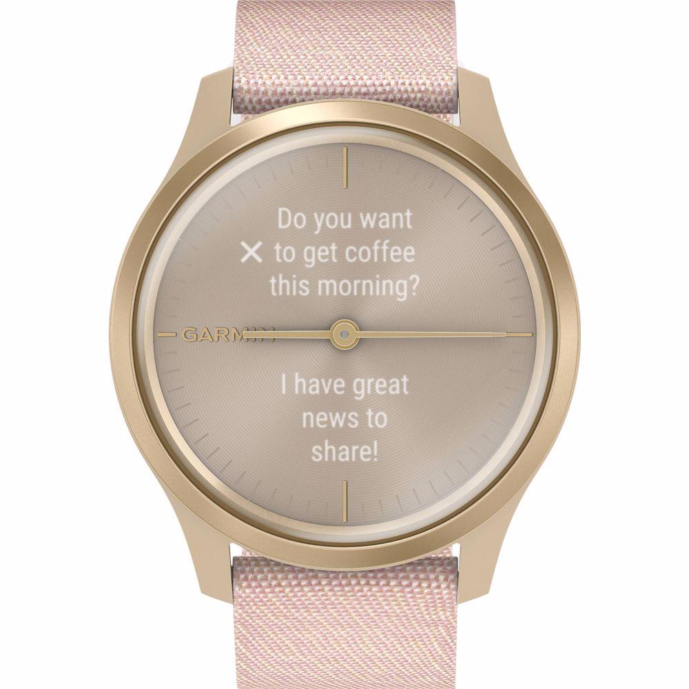 Garmin smartwatch Vivomove Style (Rosegoud)