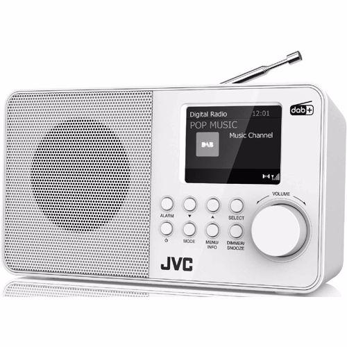 Foto van JVC DAB radio F39W-DAB (Wit)