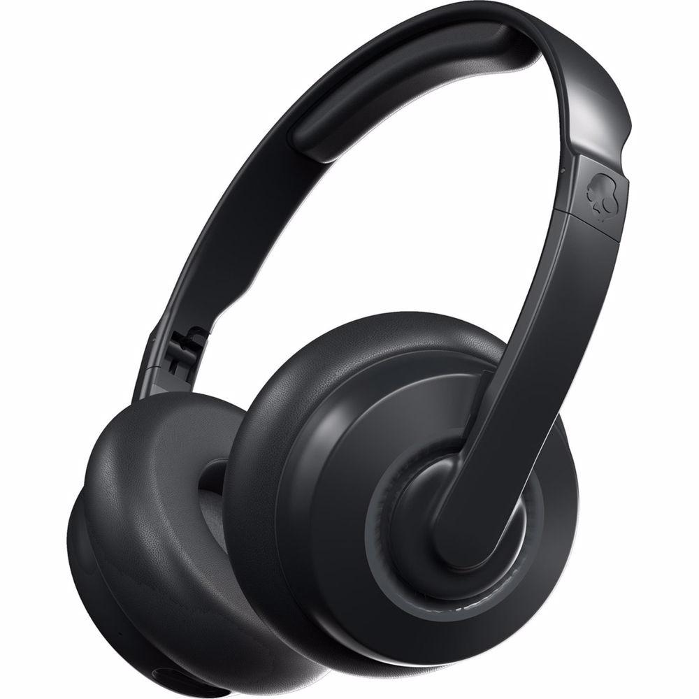 Skullcandy Cassette draadloze on-ear hoofdtelefoon (Zwart)