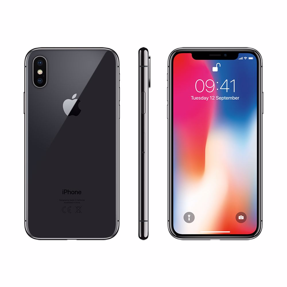 Renewd Apple iPhone X - 64GB (Space Grey) - Refurbished
