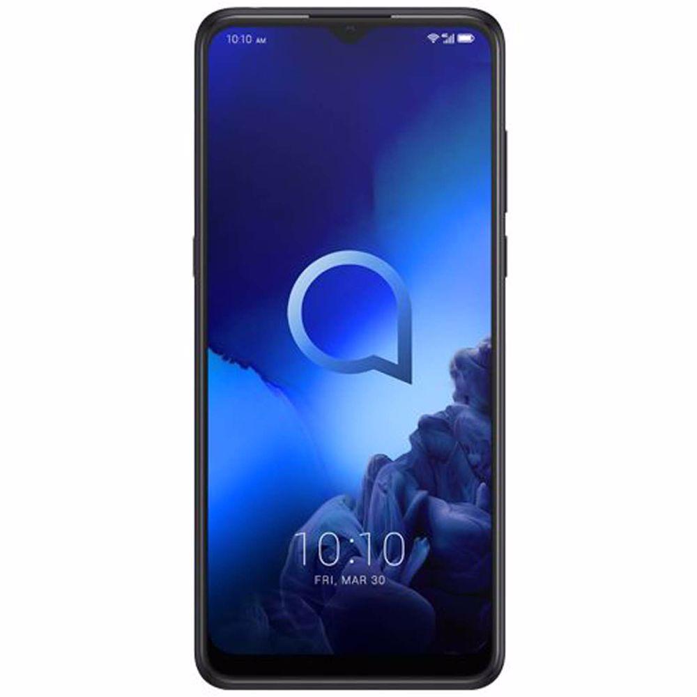 Alcatel smartphone 3X (2019) 128GB ZWART