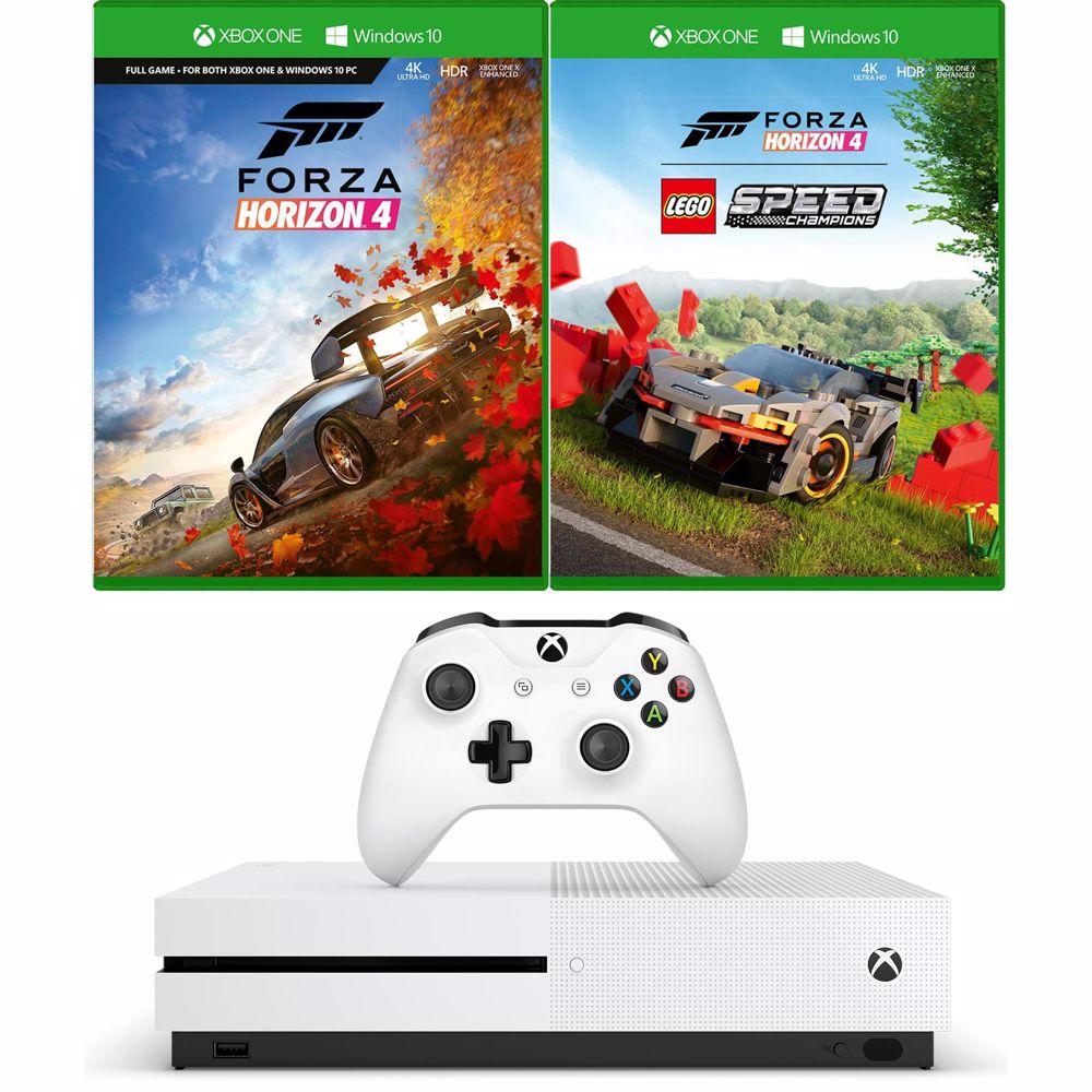 Microsoft gameconsole Xbox One S Forza Horizon 4 + Lego Bundel