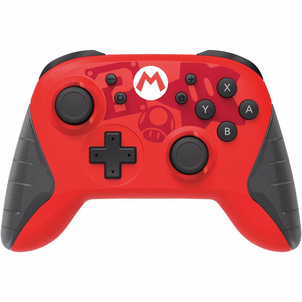 Horipad Draadloze Gaming Controller (Mario) Switch