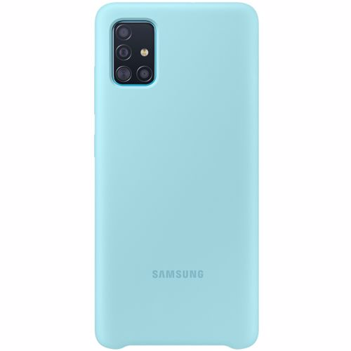 Samsung siliconen telefoonhoesje Samsung Galaxy A51 Blauw