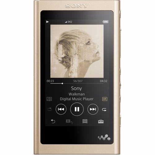Foto van Sony Walkman NW-A55L Hi-Res MP3 speler Goud 16GB