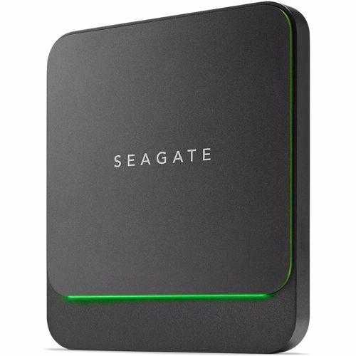 Seagate BarraCuda Fast SSD 2000 GB Zwart