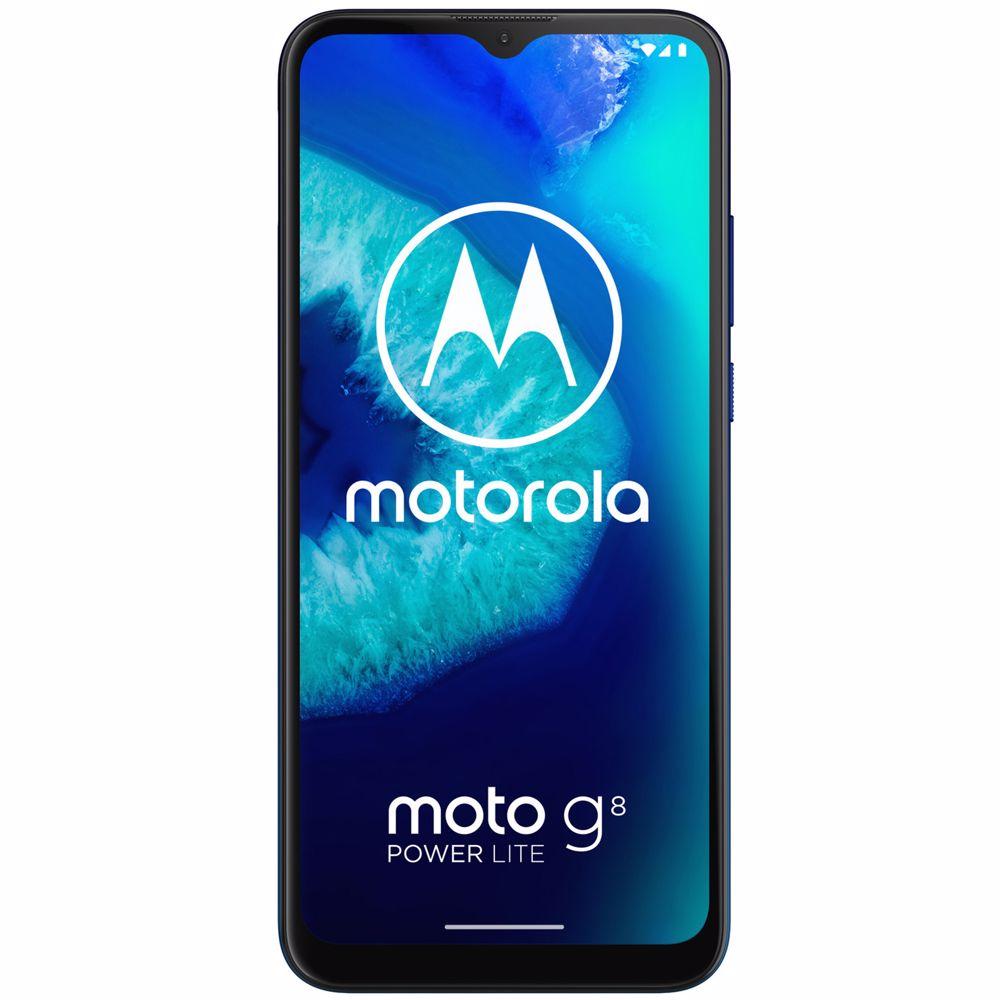 Motorola smartphone Moto G8 Power Lite (Blauw) incl KPN simkaart