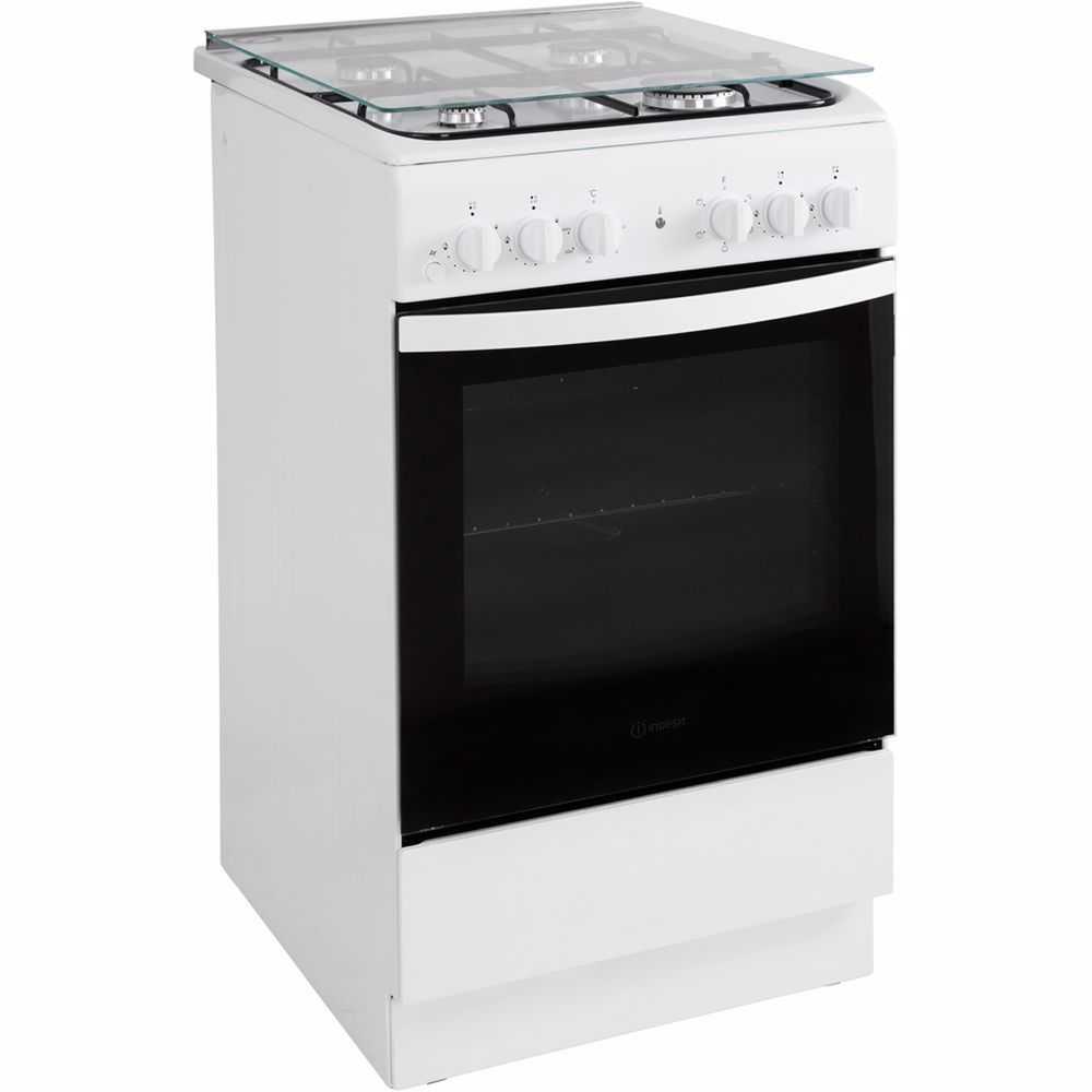 Indesit fornuis IS5G4KHW/NL