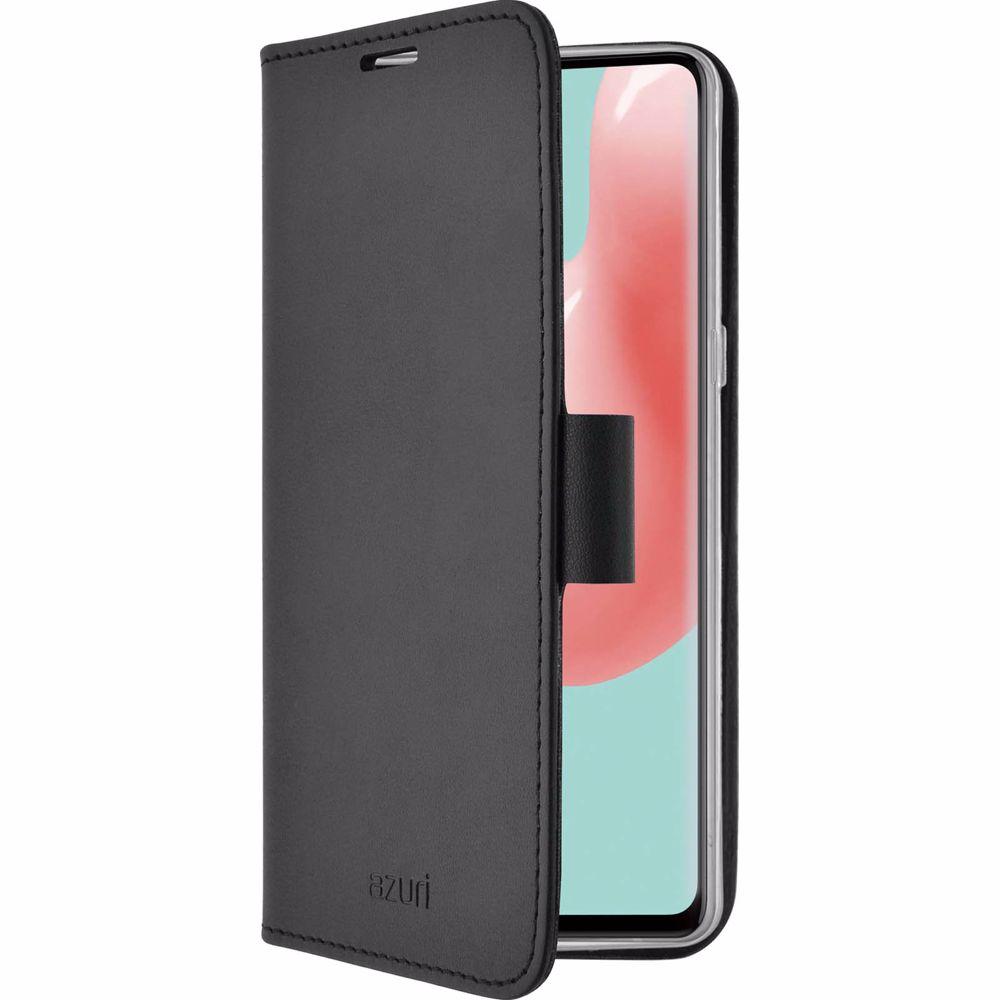 Azuri telefoonhoesje Samsung A41 Wallet Case (Zwart)